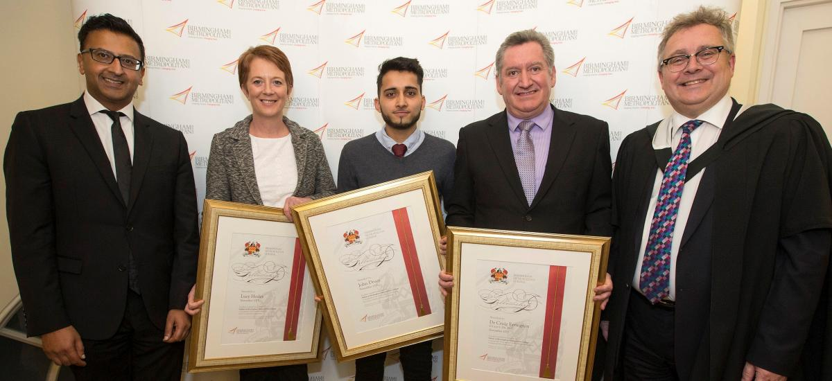 BMet Fellowships recognise industry support for local ...
