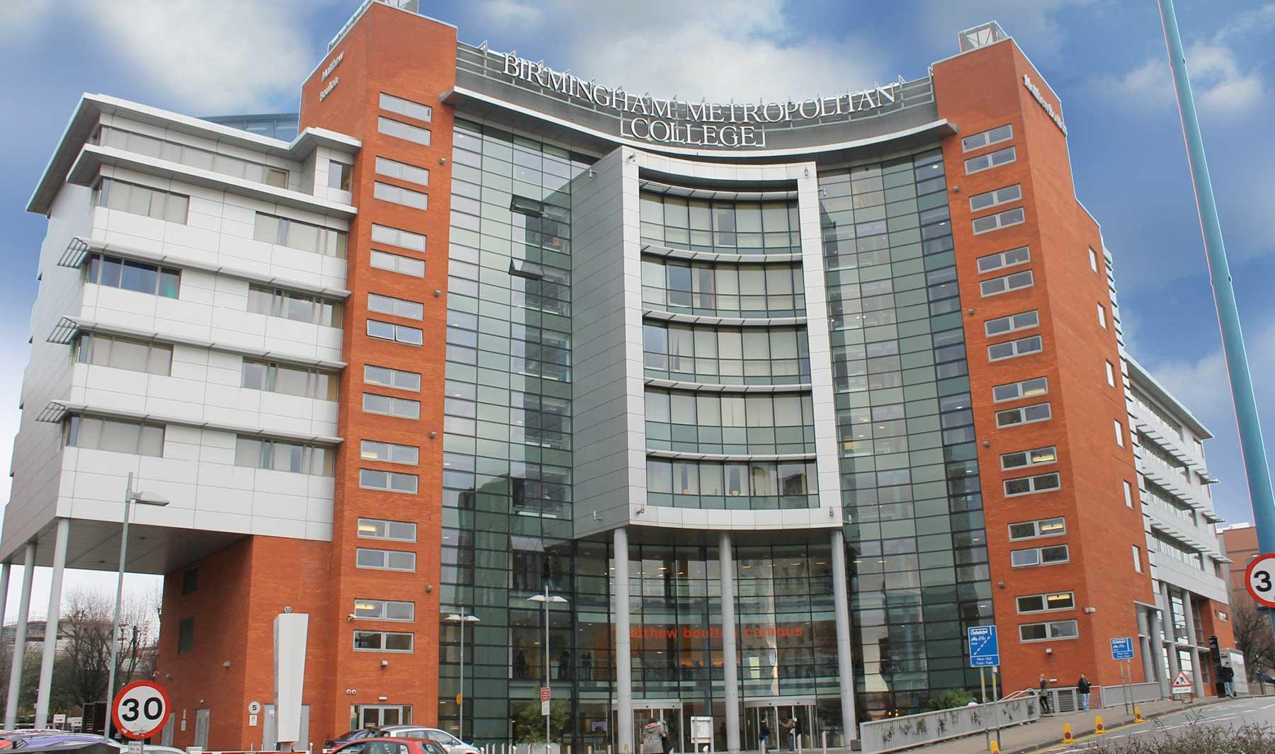Matthew Boulton College Birmingham Metropolitan College